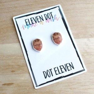 A Christmas Story Ralphie Face Holiday Earrings